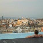 Lekker bij komen na een dag Barcelona