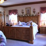 Our room - the Romantic Rose Suite