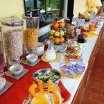 Il buon buffet della colazione