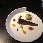 Chocolate and Cumin tart