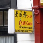 Chilli Cool - sign