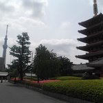 pagode et skytree