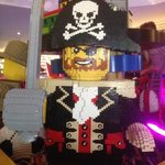 lego pirate in reception