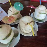quench yr thirst....Coconut in Paradise island