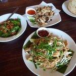 Pad Thai noodle, veges etc