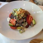 Салат с лобстером