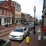 Main Street Richtung Hafen