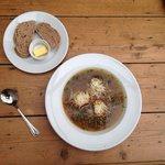 Blas onion soup