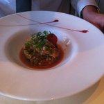 Tartare de saumon et fraicheur de quinoa