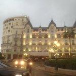 Hotel de Paris opposite us