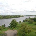 View toward Glasgow