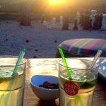 Mojito,détente,couchée de soleil,quoi de mieux!;-)