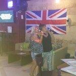 us doing karaoke
