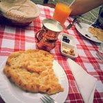 Ayran, turkish bread, olives!