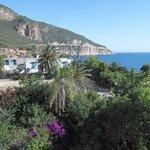 vue de l'hotel: plage de chenoua