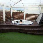 Whirlpool am Dach