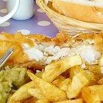 Fresh Haddock - Minster Fish Bar Howden (June 2014)