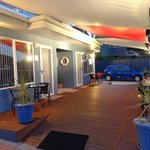 Sails on Port Sorell Boutique Apartments Front Deck