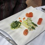 set lunch starter - salmon