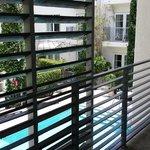 Pool Villa - Room 108: Balcony on second level