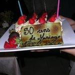 Un super gâteau d'anniversaire