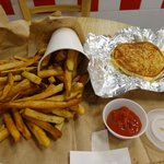 Fries & grilled cheese