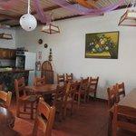 Small restaurant open at breakfast