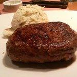 One big steak!