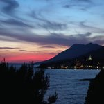 Gradac sunset