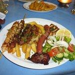 Mixed Grill at Dias Zeus