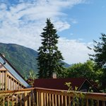 view from top deck