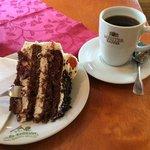 Schwarzwälder Kirsch und Kaffee, hmmm