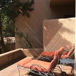 Purple Lizard Suite patio