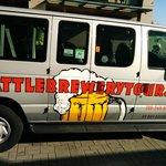 Our tour van.