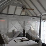 Bed in cottage 18