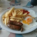 Chips, Eggs and Sausages