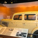 "Car from the movie ""Bonnie & Clyde."""