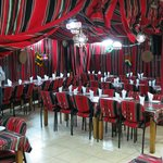 Sababa Tent Restaurant for lunch in Bethlehem