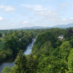 View from the Battlements of the River Teith