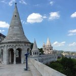 Views from paid area of Fisherman's Bastion