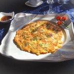 Korean Pancake -- my breakfast choice