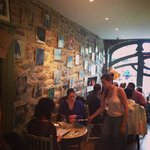 Summer in the gallery cafe