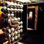 """Disco ball """"5"""" on 5th floor"""