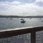 View of Tomales Bay from the tables
