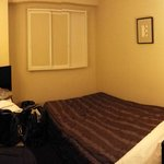 Clean but tiny room
