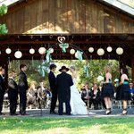 River Barn ceremony