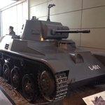 Light tank used by Irish troops