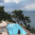Sea view: Infinity Pool
