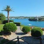 View from hotel towards Mahon
