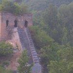 長城にある砦跡